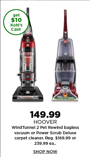 $149.99 hoover vacuum. shop now.