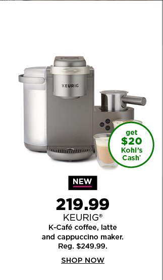 $219.99 coffee maker. shop now.