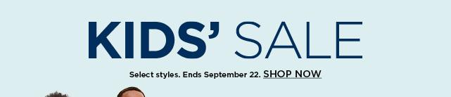 kids sale. shop now.