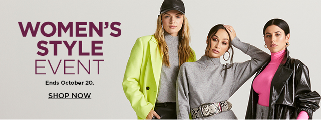 shop the women's style event. select styles.