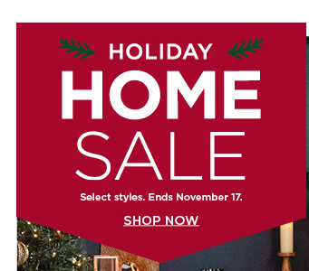 shop the home sale. select styles.