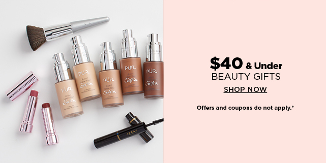 $40 and under beauty gifts.  shop now.