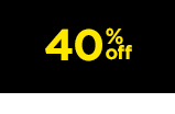 40 percent off and more. shop now.
