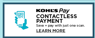 contactless payment. kohls pay.