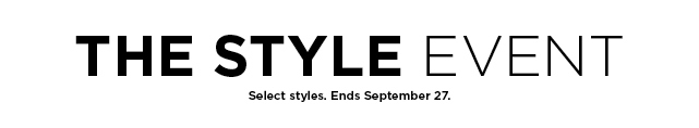 the style event. shop now.