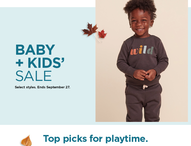shop the baby and kids sale